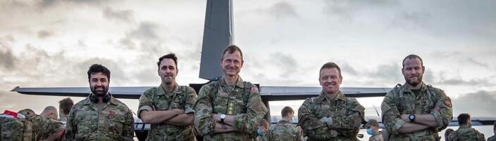 Danskene overtar ledelsen av Natos treningsoppdrag i Irak