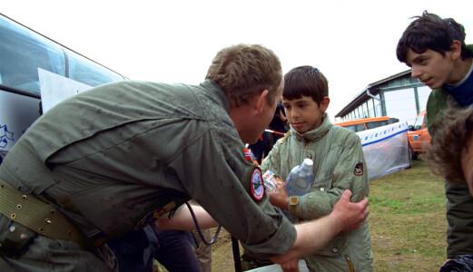 Luftforsvaret har bidratt til humanitære operasjonar sidan «tidenes morgon».