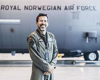 Jens Bolstad er fortsatt flygar ved 335-skvadronen.