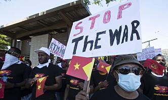 Etiopias statsminister sier hæren er klar til å angripe Tigrays hovedstad