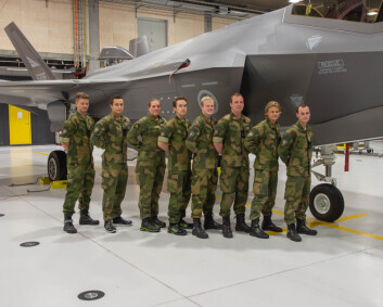 De første lærlingene på F-35