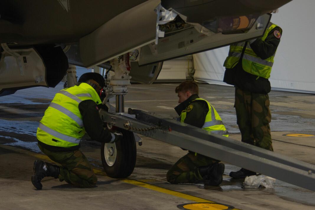 Kunnskapen er noe som ikke mangler på F-35 avdelingen på Ørland.