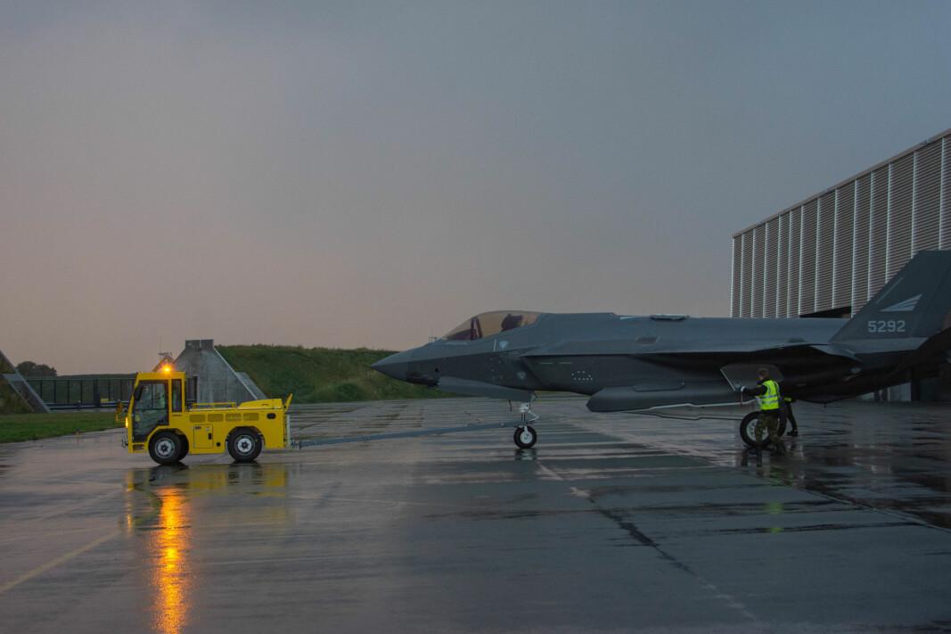 Norges nye kampflysystem F-35 er selve ryggraden i Forsvaret