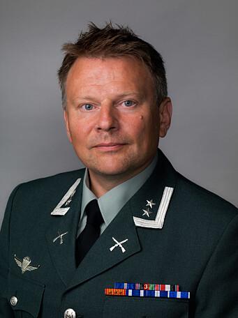 Per Gunnar Grosberghaugen er kommunikasjonssjef i Heimevernet.