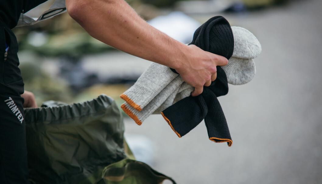 Forsvarets logistikkorganisasjon har besluttet at kroppsnært tøy skal gjenbrukes.