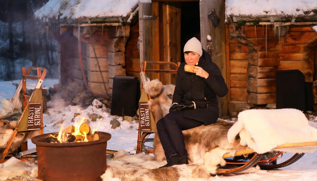 Utenriksminister Ine Eriksen Søreide deltar på et arrangement i Alta, der stortingsmeldingen om nordområdene ble lansert fredag.