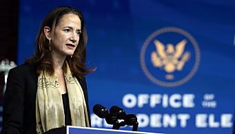Joe Biden vil ha CIAs tidligere nestleder Avril Haines som øverste leder for USAs 17 etterretningsorganisasjoner. Hun har også jobbet for Tony Blinkens konsulentselskap WestExec Advisor.