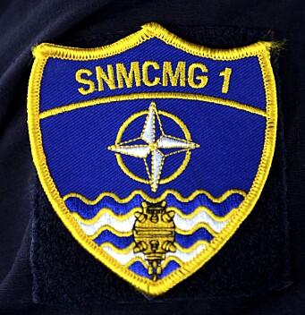 Minerydderstyrken er en del av Nato-oppdraget SNMCMG1, Standing Nato Mine Counter Measures Group 1
