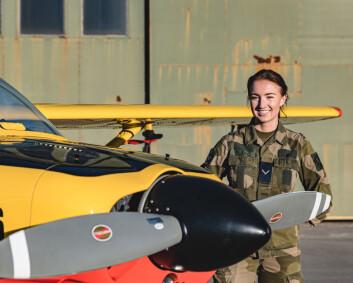 – Drømmen er å fly F-35