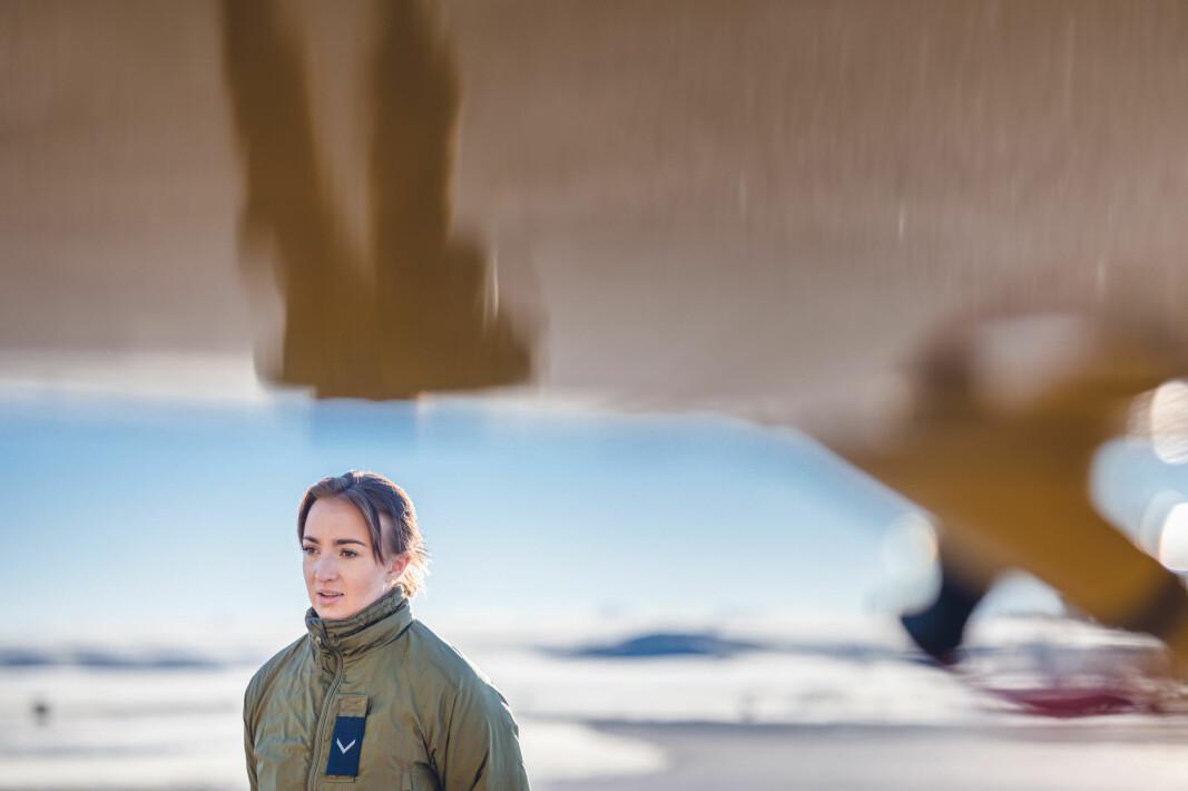 Luftforsvarets treningsfly SAAB Safari er treningsflyet Susanne skal ta i bruk når hun begynner på flygerskolen på Bardufoss.