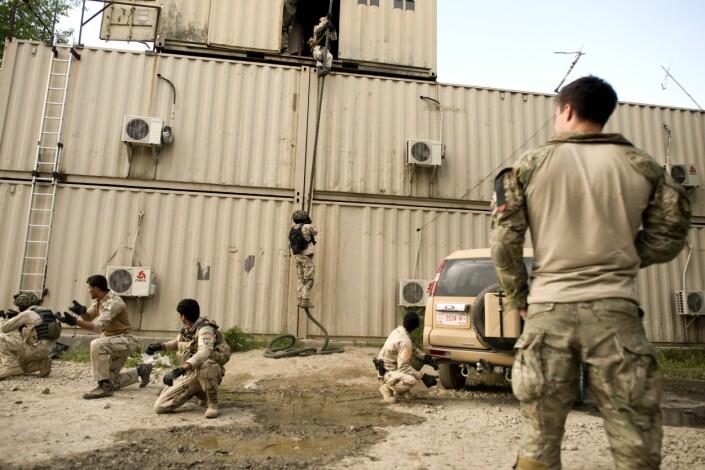 Norsk kontingent gjør seg klar for Kabul mens Nato forbereder seg på uttrekning