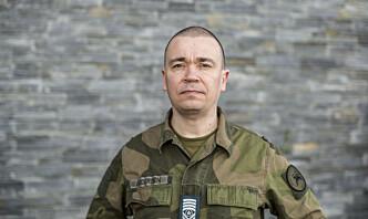 Sersjantmajor Inge Andresen er første fra Luftforsvaret på nytt kurs i Estland