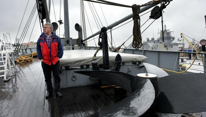 Daglig leder Svein Torkelsen fulgte Hestmanden til Bergen.