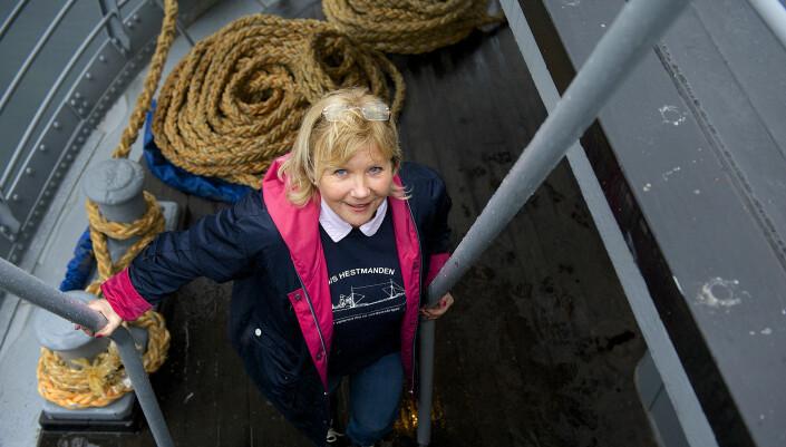 Kathrine Høvding er niese av tidligere eier. Hun tilbrakte store deler av oppveksten på Hestmanden.
