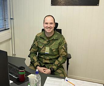 Personalsjef Sindre Monsholm.