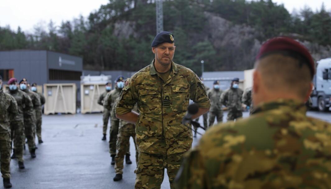 Kommandør Kåre Karlsen overtok som sjef for Marinejegerkommandoen torsdag 3. desember.