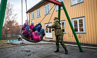 – I Norge er også forsvaret av landet vårt en dugnad