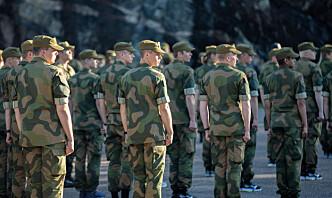 154 rekrutter som fikk koronautsatt innrykk, møtte til tjeneste torsdag