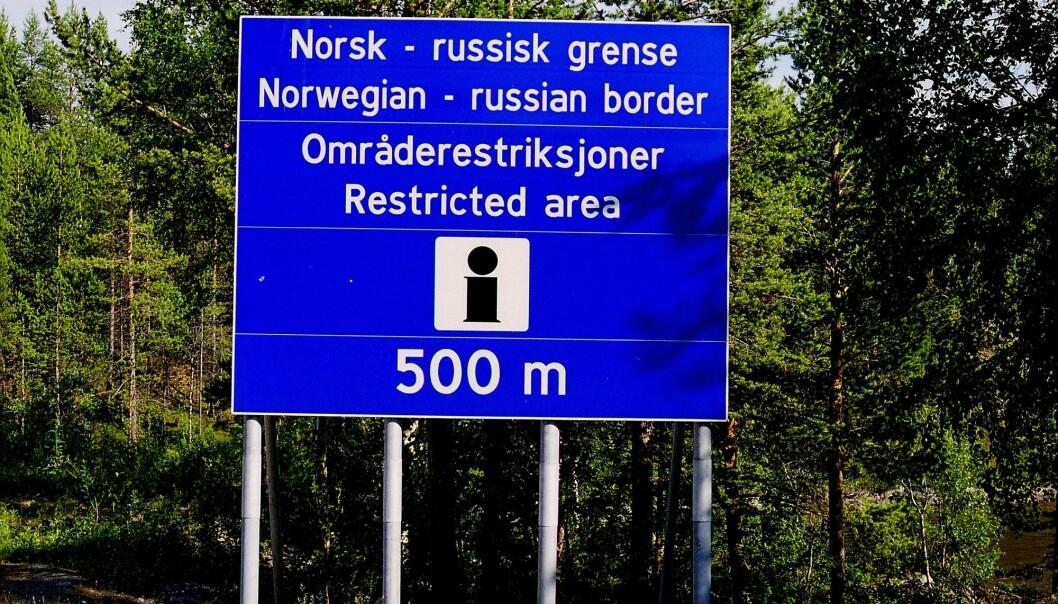 Pasvikdalen ligger tett opp mot grensen til Russland.