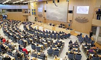 Flertall i Sverige for Nato-opsjon