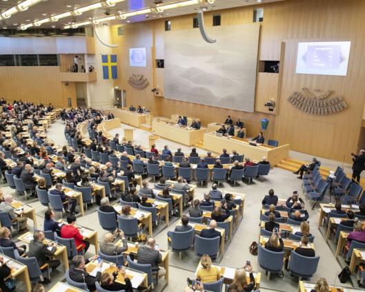 Færre Nato-motstandere i Sverige