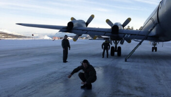 Det kan bli glatt på Bardufoss, skriver Jon Wicklund.
