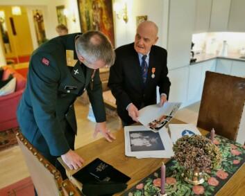 Thorbjørn Bergersen tildelt Hærens fortjenestmedalje