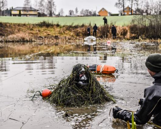 Politiet bekrefter: Forsvarets minedykkere fant drapsvåpen