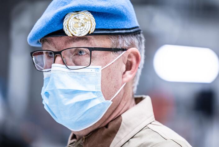Styrkesjef Hans Jørgen Nordskog forteller at det er stor bredde iblant soldatene som reiser til Mali.