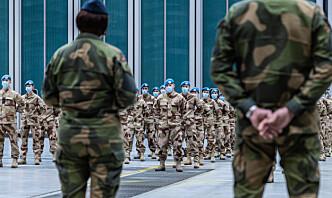 – Forsvaret i krise og krig