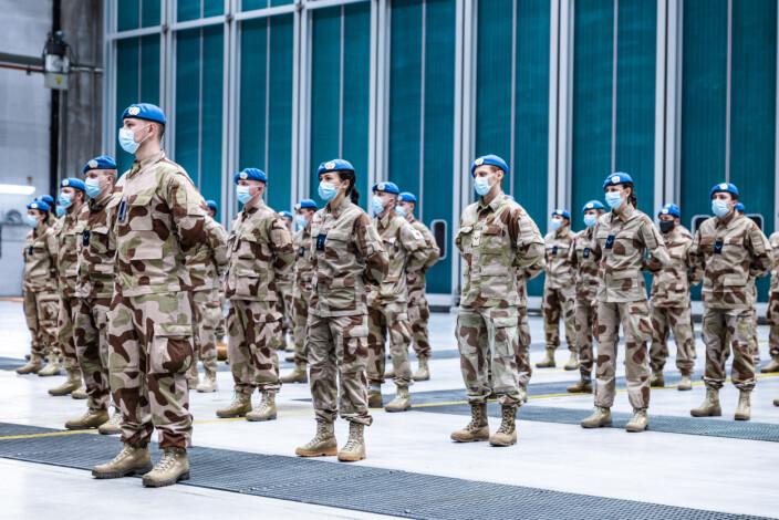 Norske soldater er på vei til verdens farligste FN-oppdrag i ørkenlandet Mali.