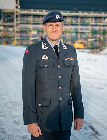 Oberst Eirik Guldvog er luftvingsjef for 133 Luftving.