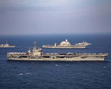 Russland og Nato-land i felles øvelse