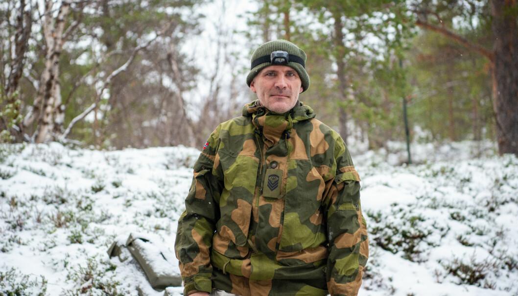 Bengt Rotmo er fungerende troppsjef for jegertroppen i Ida og Lyra.