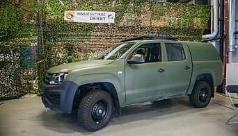 Heimevernet bytter ut sine feltvogner med Volkswagen Amarok.
