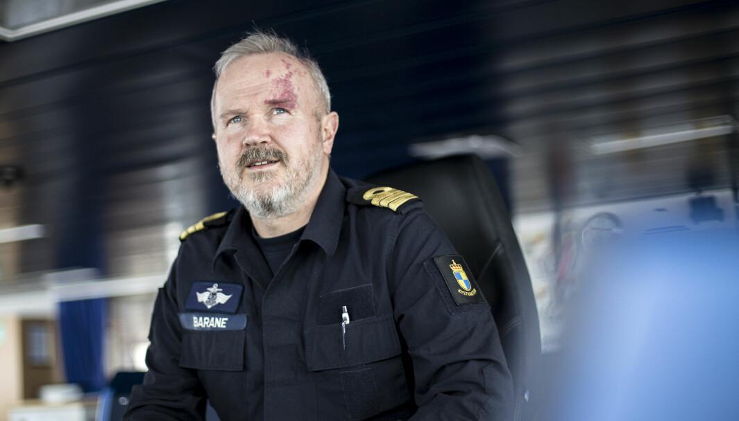 Kommandør Endre Barane har lang fartstid fra Kystvakten.
