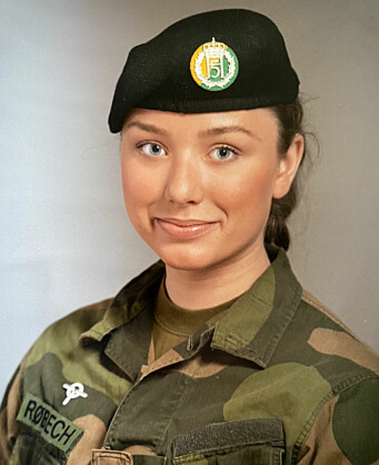Linnea Huseby Røbech, hovedtillitsvalgt i Hæren.