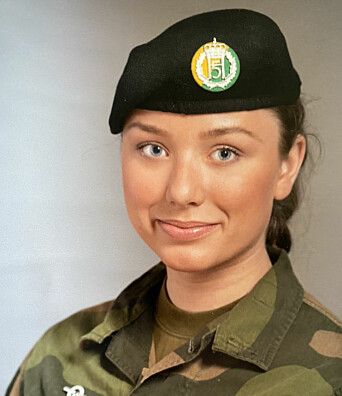 Linnea Røbech, hovedtillitsvalgt i Hæren