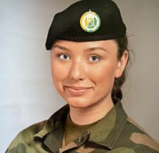 Linnea Huseby Røbech, hovedtillitsvalgt i Hæren