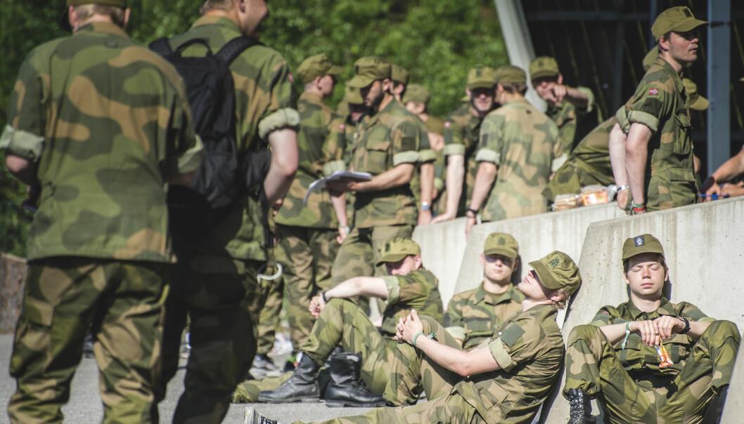 Forsvaret må ta et større eierskap til egen fremtid, egne behov og profesjonens innhold, skriver Jens Jahren. Dette bildet er fra Forsvarets opptak og seleksjon.