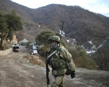 Våpnene har stilnet i Nagorno-Karabakh
