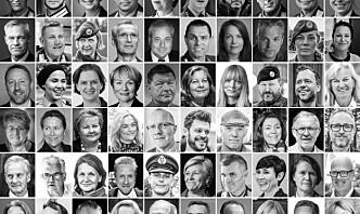 75 forsvars- og samfunnsprofiler gratulerer Forsvarets forum og Mannskapsavisa
