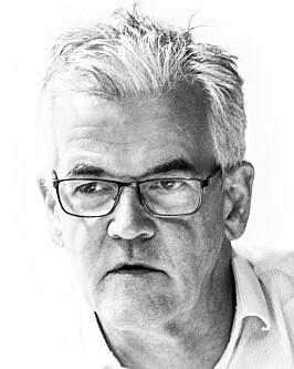 Oslo 20190925.  Leder av Pressens faglige utvalg (Pfu)  Alf Bjarne Johnsen behandler flere saker i Oslo onsdag. Foto: Terje Pedersen / NTB