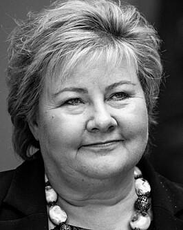 Oslo 20201014.  Statsminister Erna Solberg etter Stortingets spørretime onsdag. Foto: Terje Pedersen / NTB