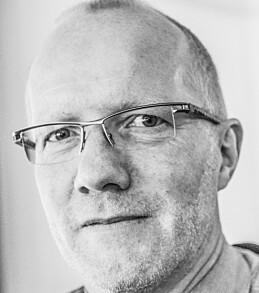 Oslo  20140116. Leder i Norsk redakt¯rforening Arne Jensen i NTB's lokaler torsdag ettermiddag.  Foto: Fredrik Varfjell / NTB