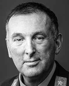 Rune Jakobsen, sjef ved Forsvarets operative hovedkvarter