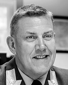 Henning-André Frantzen, sjef for Forsvarets høgskole