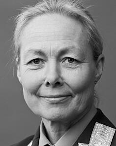 Ingrid Margete Gjerde, sjef for Forsvarets planavdeling