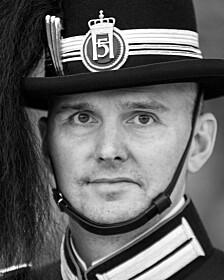 Gardesjef oberstløytnant Trond Roberg Forbregd.