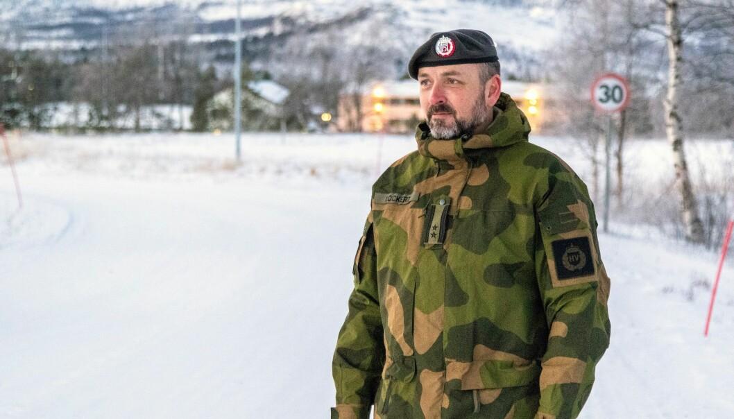 Oberstløytnant Bernt Normann Lockert er ny sjef for HV-17.